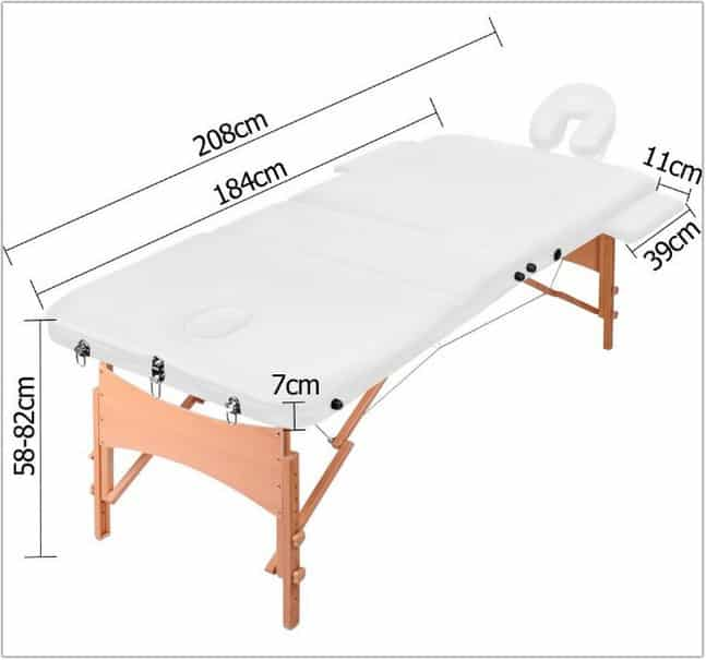 Massage Table Dimensions