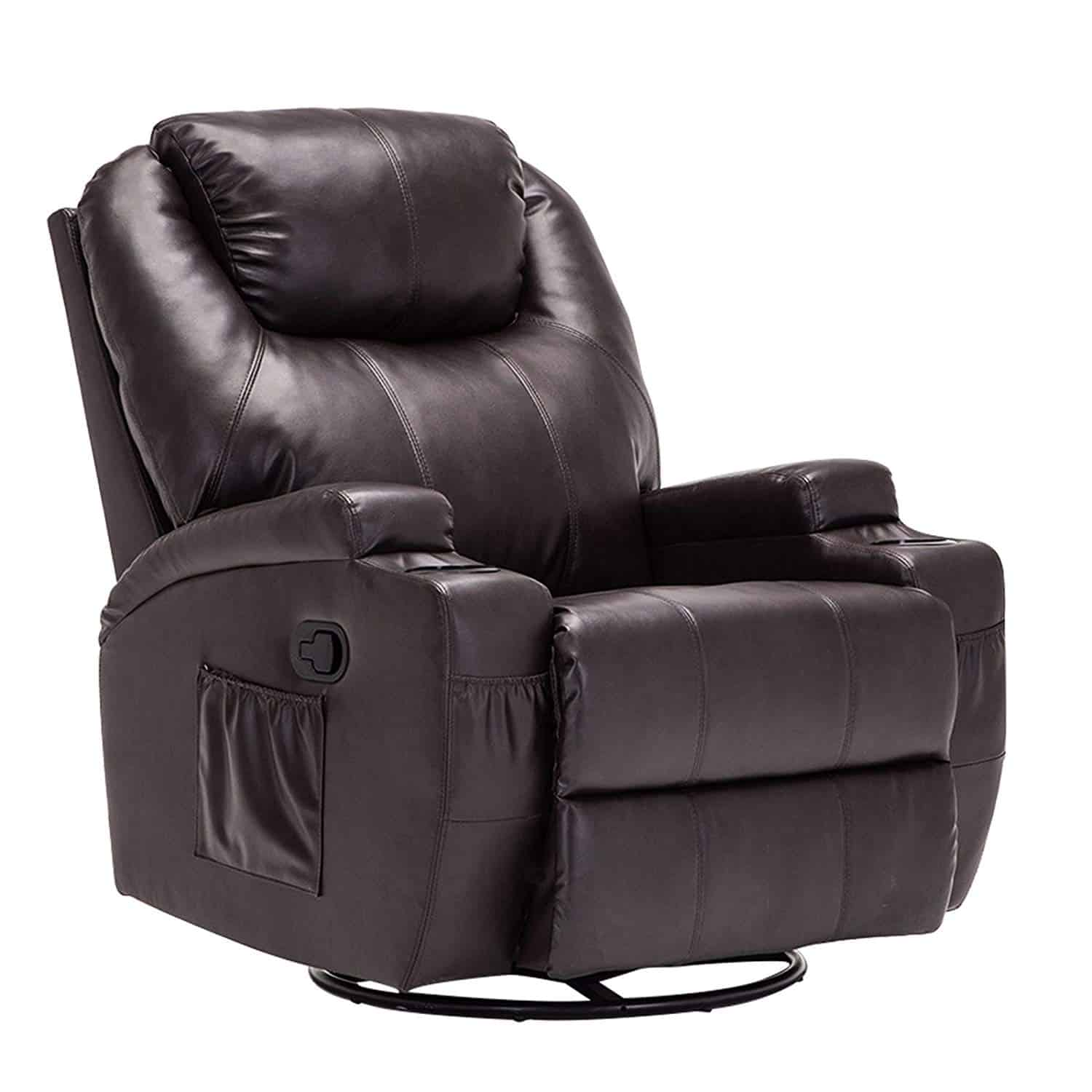 Mecor Heated Leather Massage Chair